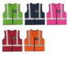 Reflective vest colour options