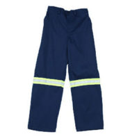 100% Cotton HiViz overall trousers