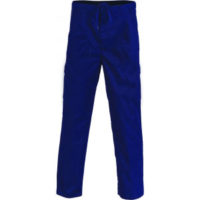 Drawstring overall trousers